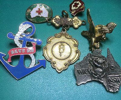Group Of Badges