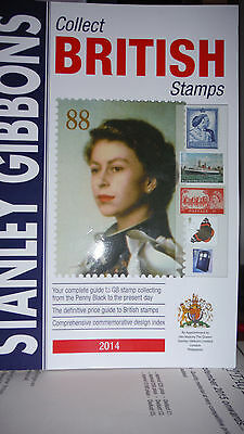 Great Britain Stanley Gibbons Collect British Stamps 2014