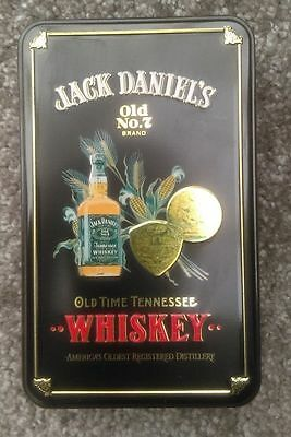 Jack Daniels Tin Complete with Minatures Bottles From 2000