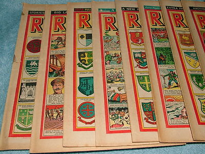 The Rover 14 Copies Oct 55 – Jan 56 Collectors Vintage Comics great condition