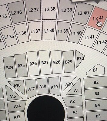 Adele Melbourne A Reserved Level2 . 4 Tickets Available