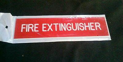 Fire extinguisher signs Total of 14