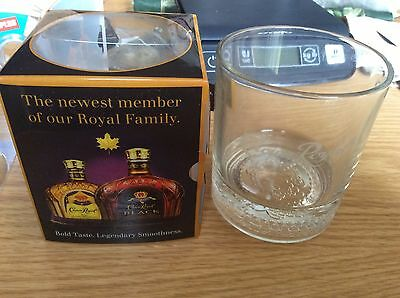 Lot Of 2 Limited Edition Canadian Crown Royal Rye Whiskey Glasses, NIP