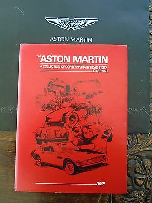 ASTON MARTIN -Detailed Collection of Road Tests for Models from 1948  -1959
