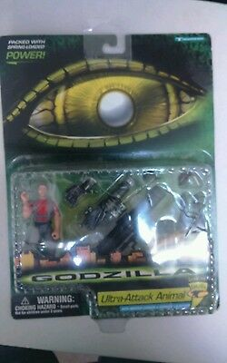 Genuine Godzilla Ultra Attack Animal Mortar Cannon & Grenade Launcher Sealed