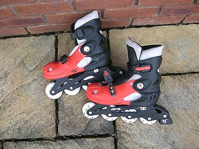 Childs roller boots- inline skates size