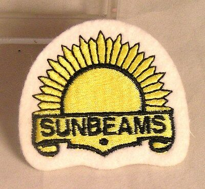 Salvation Army - CLOTH PATCH - SUNBEAMS