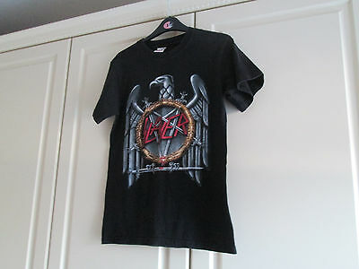 Mens Black Slayer Top Size S Fruit Of The Loom