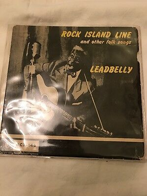 Leadbelly - Rock Island Line And Other Folk Songs