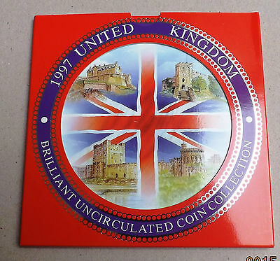 1997 Brilliant Uncirculated Decimal Coin Set All Packaging And Paperwork