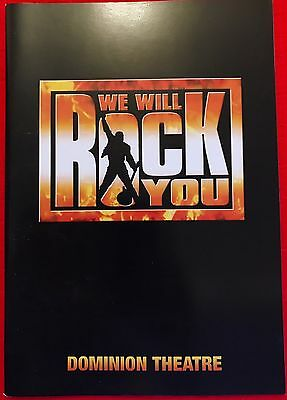 We Will Rock You - London Cast Musical Theatre Programme