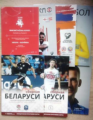 2016/2017 national teams programmes Q WC-2018 & Friendly UPDATED JANUARY 2016