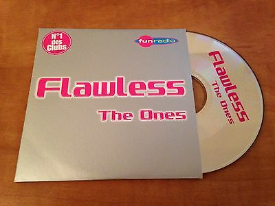 Rare French Cd Single 2T The Ones Flawless (George Michael)