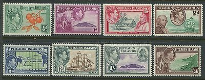 Pitcairn Island KGVI 1940 set of 8 unmounted mint NH
