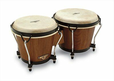 Latin Percussion LP810002 CP Traditional Bongos - Dark Wood