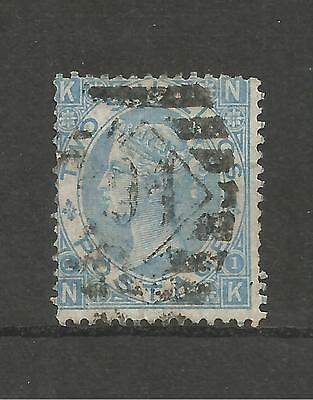 Queen Victoria 1867 Two Shilling Pale Blue Used Sg 120   Ref68