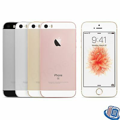 New Unlocked Apple iPhone SE 16GB Rose Gold Silver Space Gray A1723 GSM