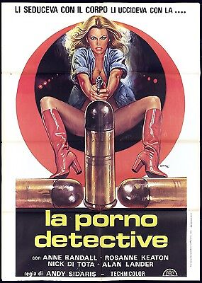 La Porno Detective Manifesto Cinema Film Sexy Usa 1975 Stacey Movie Poster 2F