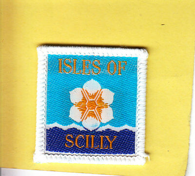 Boy Scout Badge bound ISLES of SCILLY Scout Group