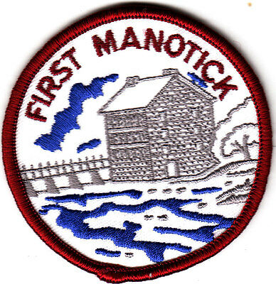 Boy Scout Badge FIRST MANOTICK Scout Group