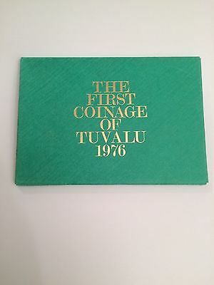 The First Coinage of Tuvalu - 1976 - Coins - Mint - Display Case