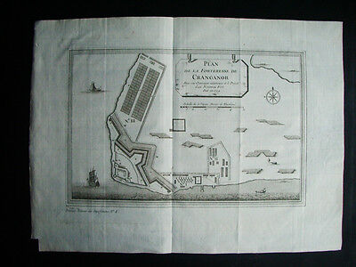 1761-Fort Cangranore.kodangallur.tipu.cranganor.india. Original