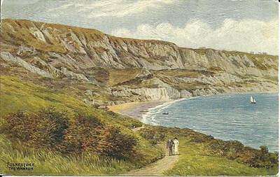 Folkestone - The Warren - Artist Signed By A. R. Quinton