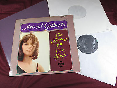 Astrud Gilberto  THE SHADOW OF YOUR SMILE  LP Verve V6-8629
