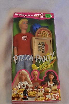 Barbie! Pizza Party Kevin! Everything For a Pizza Party! NIB! NRFB!