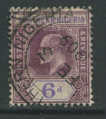 Northern Nigeria 1905 6d CDS used
