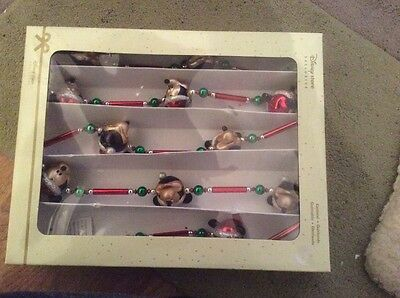 Disney Mickey Mouse Christmas Garland. Disney Store Exclusive.