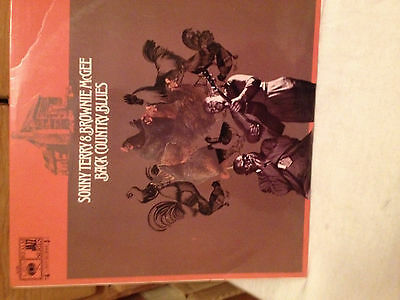 SONNY TERRY & BROWNIE MCGEE - Back Country Blues ~ VINYL LP