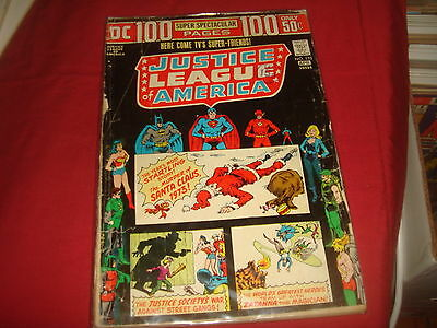 JUSTICE LEAGUE OF AMERICA #110 100 Page Super Spectacular   DC Comics 1974 G