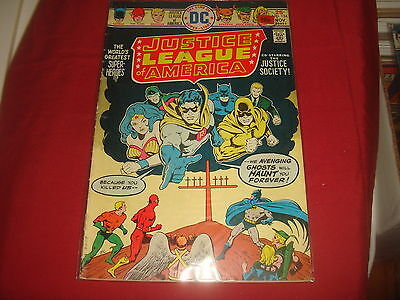 JUSTICE LEAGUE OF AMERICA #124   DC Comics 1975 VG