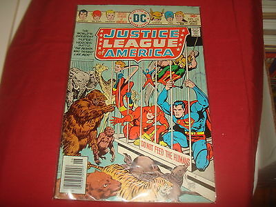 JUSTICE LEAGUE OF AMERICA #131   DC Comics 1976  VG