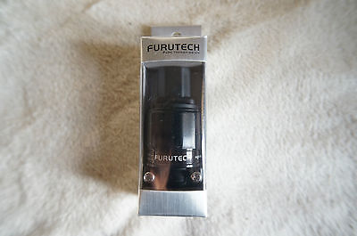 Furutech FI-11N1(AG)IEC plug connector,silver plated,new+box,mains audio power