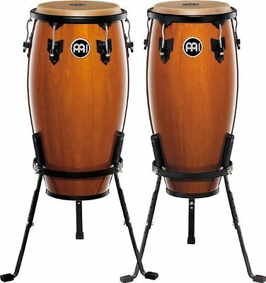 Meinl Percussion Headliner Series HC555NT Pair of congas inch Wooden 10 and 11 ""