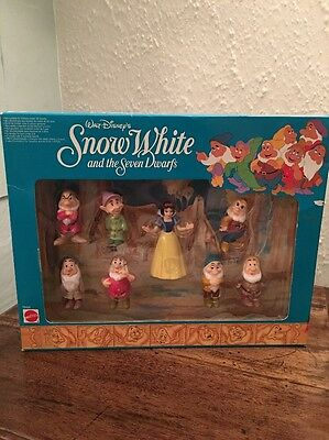 Snow White And The Seven Dwarfs Walt Disney Mattel 1994