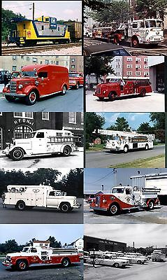 26,000+ Mostly Vintage US Fire Apparatus Photos on 13 High-Capacity DVD-R Discs!