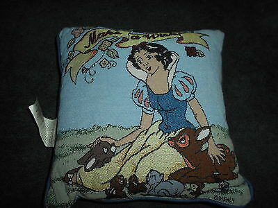 Disney Snow White Pillow...'make A Wish'...nwot