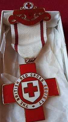 British Red Cross Society PROFICIENCY IN FIRST AID Rare Vintage Enamel Medal
