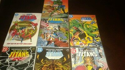 The New Teen Titans #2 5 8 9 10 11 20...vf/nm...1984/85