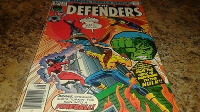 The Defenders #39 (Sep 1976, Marvel) VF-