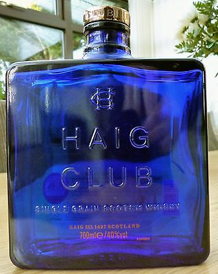 HAIG CLUB Scotch Whisky Bottle. 700ml. Collectable