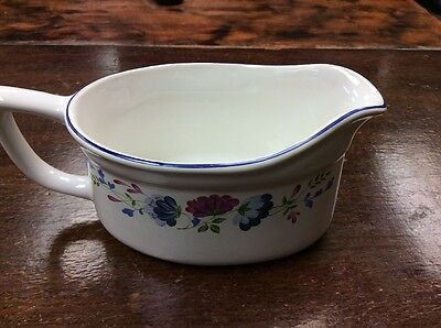 Fabulous Bhs Priory Floral Gravy Boat