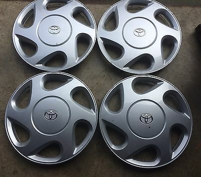 "TOYOTA CAMRY Conquest - Csi 1996-1997-1998...HUB CAPS..15 "" SET OF 4...GENUINE"