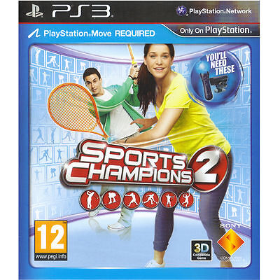 Sports Champions 2 for Sony PlayStation 3 - BRAND NEW SEALED