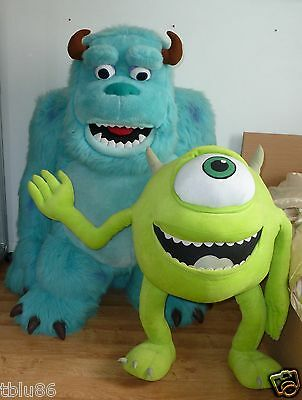 Disney Monsters Inc Sulley & Mike Life size plush soft toys