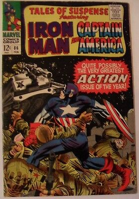 Tales of Suspense #86 (1967) Iron Man and Captain America