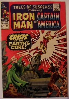Tales of Suspense #87 (1967) Iron Man and Captain America